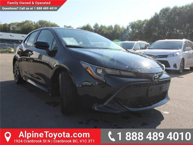 2019 Toyota Corolla Hatchback SE Upgrade Package (Stk: 3009533) in Cranbrook - Image 7 of 17