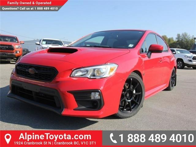 2018 Subaru WRX Base (Stk: 9801407) in Cranbrook - Image 1 of 20