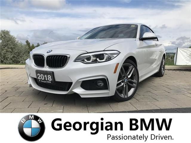 2018 BMW 230 i xDrive (Stk: P1295) in Barrie - Image 1 of 20