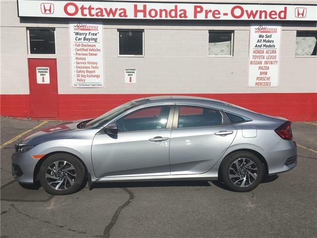 2017 Honda Civic EX (Stk: H7230-0) in Ottawa - Image 1 of 20