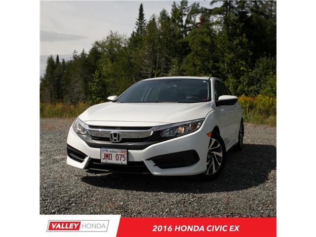 2016 Honda Civic EX (Stk: U4970A) in Woodstock - Image 1 of 10