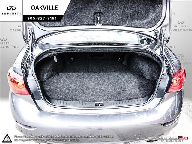 2015 Infiniti Q50 Base (Stk: Q18077A) in Oakville - Image 10 of 20