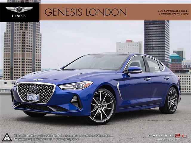 2019 Genesis G70 2.0T Prestige (Stk: 82231) in London - Image 1 of 27