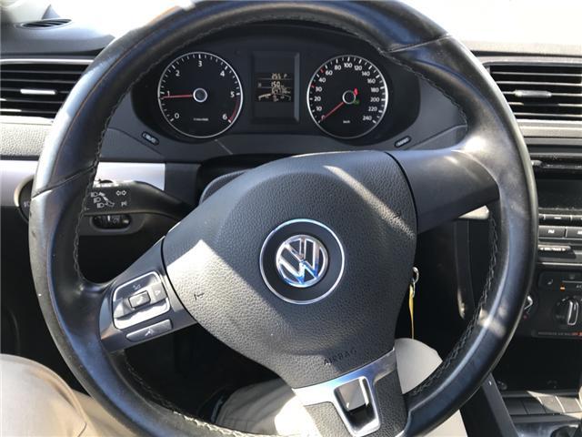 2013 Volkswagen Jetta 2.0 TDI Comfortline (Stk: 21399) in Pembroke - Image 10 of 10