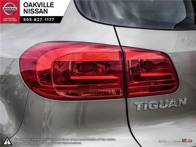 2015 Volkswagen Tiguan Highline (Stk: N18309A) in Oakville - Image 11 of 23