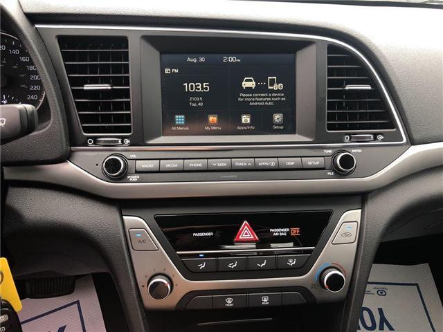 2017 Hyundai Elantra GL Heated Seats Rear View Camera Bluetooth (Stk: PA17334) in BRAMPTON - Image 16 of 19