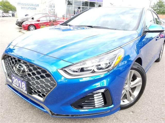 2018 Hyundai Sonata Sport-Sunroof and Alloy (Stk: op9961) in Mississauga - Image 1 of 16