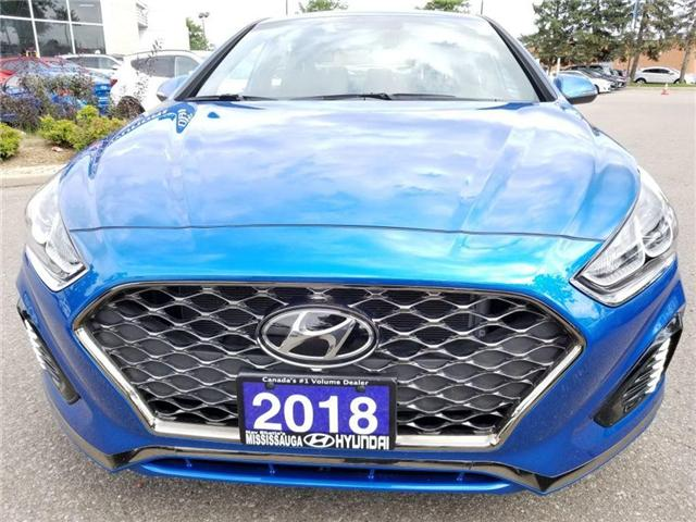 2018 Hyundai Sonata Sport-Sunroof and Alloy (Stk: op9961) in Mississauga - Image 2 of 16