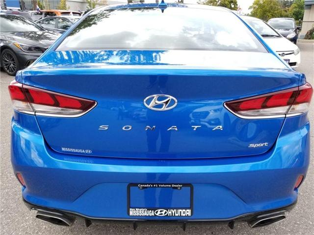 2018 Hyundai Sonata Sport-Sunroof and Alloy (Stk: op9961) in Mississauga - Image 6 of 16