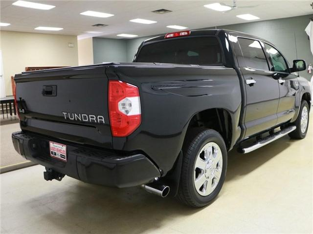 2016 Toyota Tundra Platinum 5.7L V8 (Stk: 186039) in Kitchener - Image 10 of 24