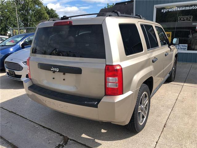 2009 Jeep Patriot Sport/North (Stk: 1J8FT2) in Belmont - Image 6 of 17