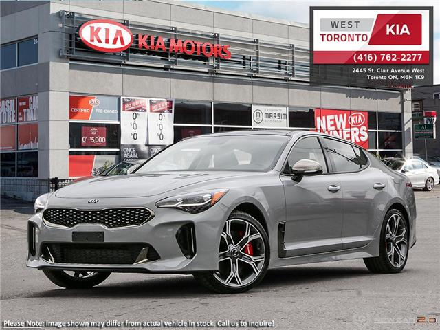 2019 Kia Stinger GT-Line (Stk: 19135) in Toronto - Image 1 of 23