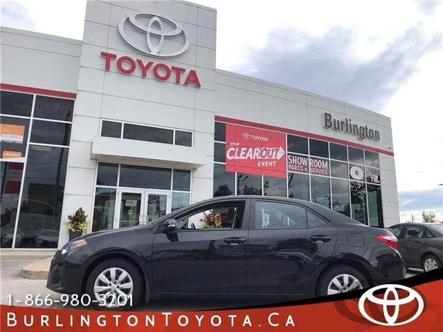 2016 Toyota Corolla LE (Stk: U10387) in Burlington - Image 1 of 18