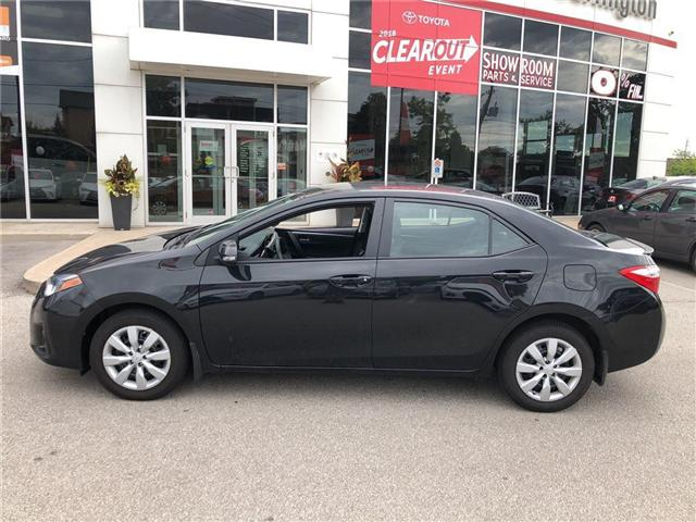2016 Toyota Corolla LE (Stk: U10387) in Burlington - Image 2 of 18