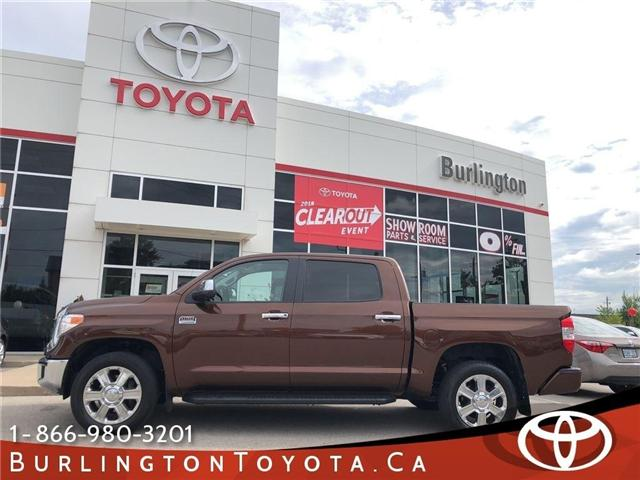 2016 Toyota Tundra Platinum (Stk: U10369) in Burlington - Image 1 of 21