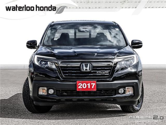 2017 Honda Ridgeline Black Edition (Stk: U4401) in Waterloo - Image 2 of 28