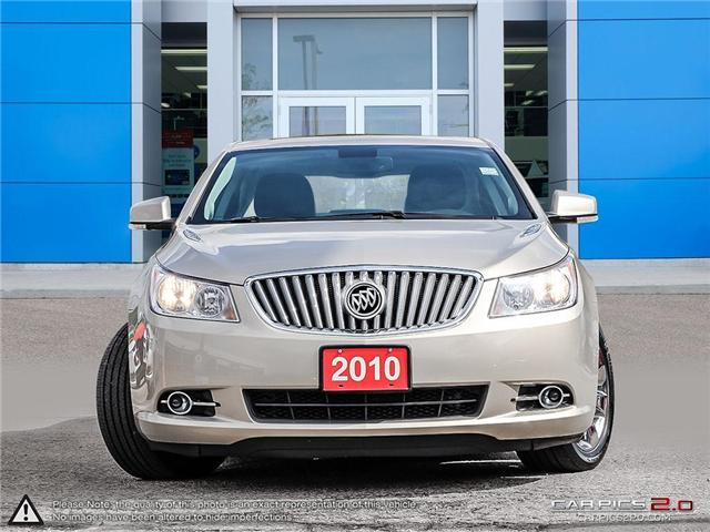 2010 Buick LaCrosse CXS (Stk: 6740TU) in Mississauga - Image 2 of 29