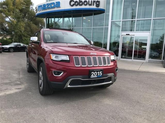 2015 Jeep Grand Cherokee Limited (Stk: 18127B) in Cobourg - Image 1 of 18
