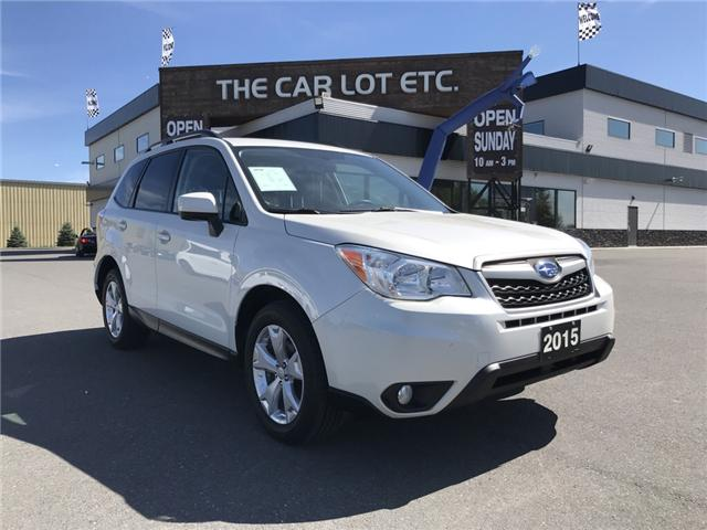 2015 Subaru Forester 2.5i (Stk: 18441) in Sudbury - Image 1 of 23