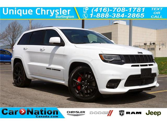 2018 Jeep Grand Cherokee SRT| LAGUNA LEATHER| PANO SUNROOF| RED SEAT BELTS (Stk: NOU-276496-J384) in Burlington - Image 1 of 30