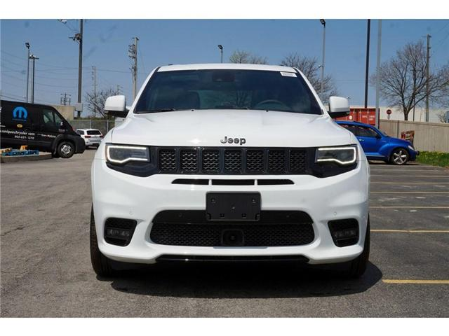 2018 Jeep Grand Cherokee SRT| LAGUNA LEATHER| PANO SUNROOF| RED SEAT BELTS (Stk: NOU-276496-J384) in Burlington - Image 2 of 30