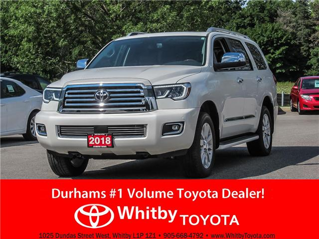 Charming 2018 Toyota Sequoia Platinum 5.7L V8 (Stk: 80312) In Whitby   Image