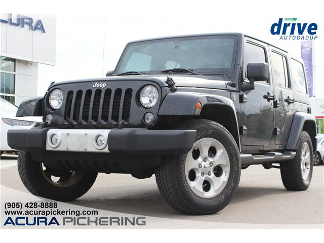 2014 Jeep Wrangler Unlimited Sahara (Stk: AP4659) in Pickering - Image 1 of 23