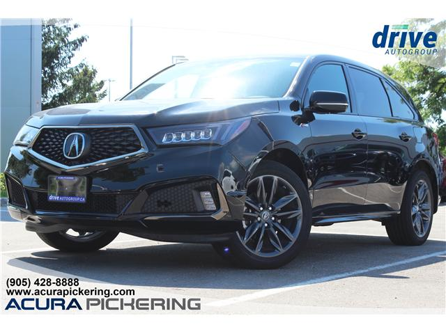 2019 Acura MDX A-Spec (Stk: AT163) in Pickering - Image 1 of 41