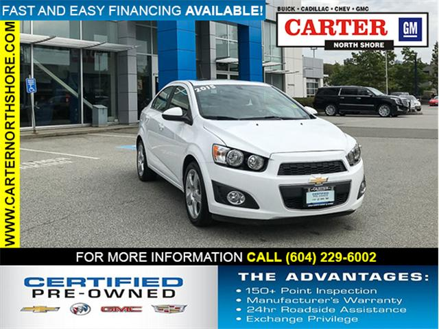 2015 Chevrolet Sonic LT Auto (Stk: 8D88993) in Vancouver - Image 1 of 27