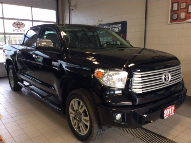 2017 Toyota Tundra Platinum 5.7L V8 (Stk: 20955-1) in Thunder Bay - Image 2 of 18