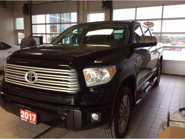 2017 Toyota Tundra Platinum 5.7L V8 (Stk: 20955-1) in Thunder Bay - Image 1 of 18