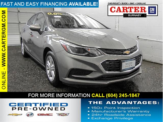 2018 Chevrolet Cruze LT Auto (Stk: P9-55870) in Burnaby - Image 1 of 24