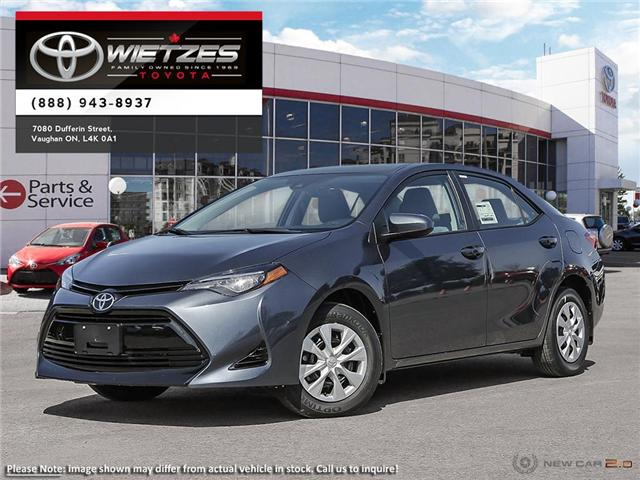2019 Toyota Corolla CE CVT (Stk: 67242) in Vaughan - Image 1 of 26
