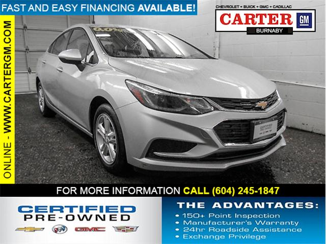 2018 Chevrolet Cruze LT Auto (Stk: P9-55930) in Burnaby - Image 1 of 23