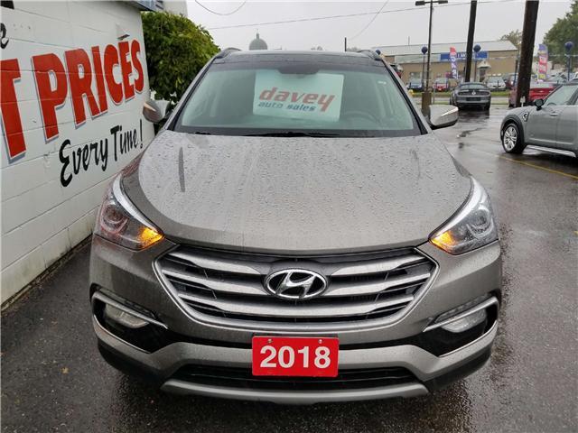 2018 Hyundai Santa Fe Sport 2.0T Limited (Stk: 18-587) in Oshawa - Image 2 of 18