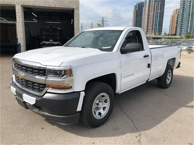 2018 Chevrolet Silverado 1500 New 2018 Silverado 1500 WT Pick-Up (Stk: PU85346) in Toronto - Image 1 of 15