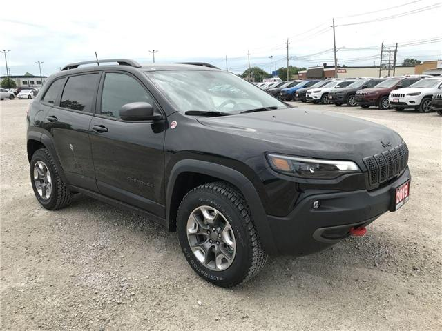 2019 Jeep Cherokee Trailhawk (Stk: 1969) in Windsor - Image 1 of 11