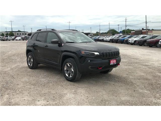 2019 Jeep Cherokee Trailhawk (Stk: 1969) in Windsor - Image 2 of 11