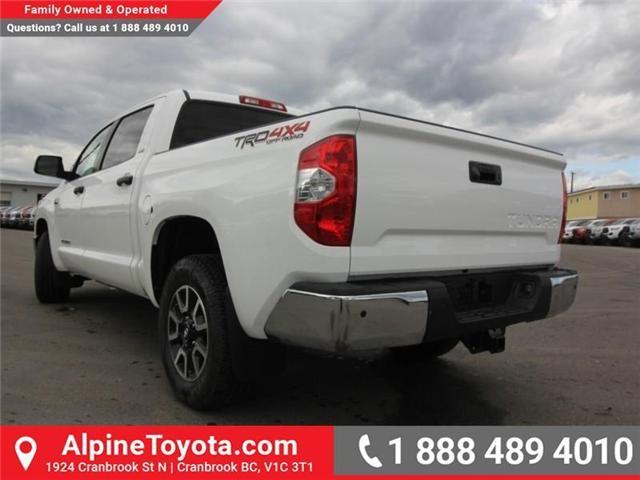 2018 Toyota Tundra SR5 Plus 5.7L V8 (Stk: X764583) in Cranbrook - Image 3 of 18
