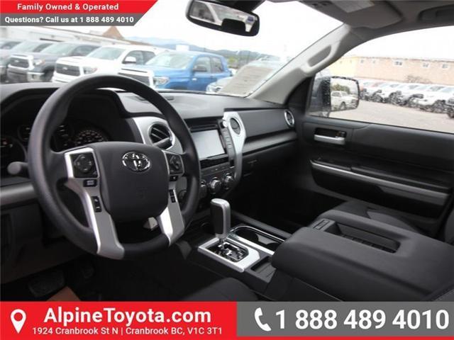 2018 Toyota Tundra SR5 Plus 5.7L V8 (Stk: X764583) in Cranbrook - Image 9 of 18