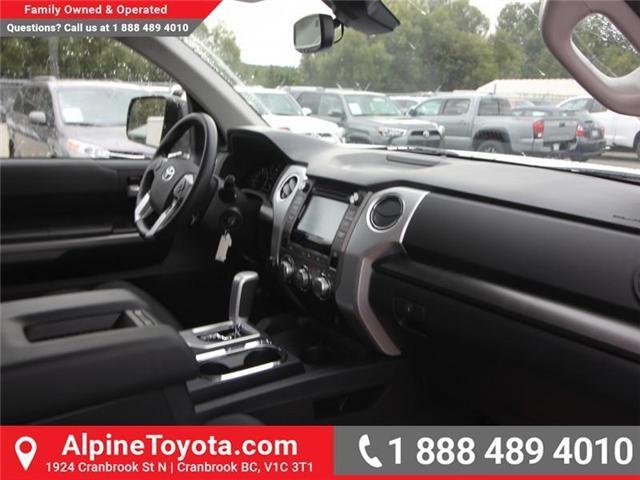 2018 Toyota Tundra SR5 Plus 5.7L V8 (Stk: X764583) in Cranbrook - Image 11 of 18