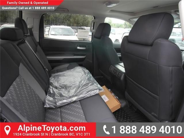 2018 Toyota Tundra SR5 Plus 5.7L V8 (Stk: X764583) in Cranbrook - Image 12 of 18