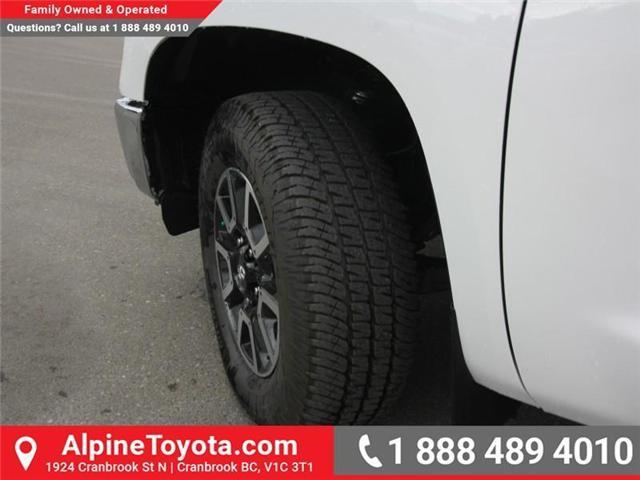 2018 Toyota Tundra SR5 Plus 5.7L V8 (Stk: X764583) in Cranbrook - Image 18 of 18
