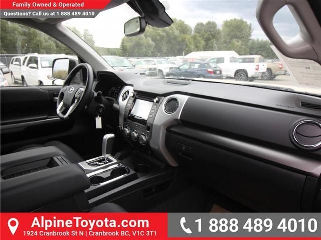 2018 Toyota Tundra SR5 Plus 5.7L V8 (Stk: X768930) in Cranbrook - Image 11 of 18