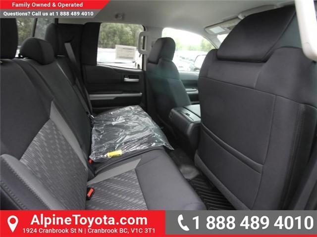 2018 Toyota Tundra SR5 Plus 5.7L V8 (Stk: X768930) in Cranbrook - Image 12 of 18