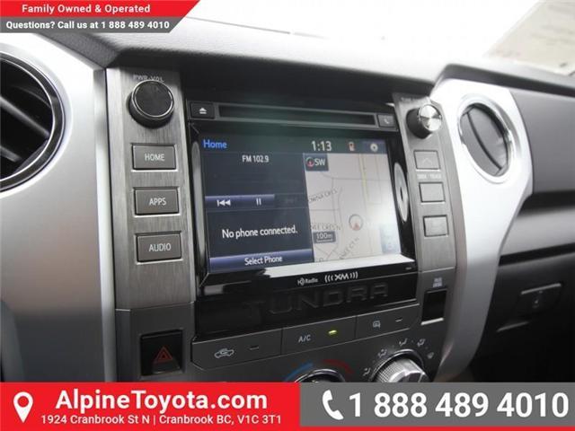 2018 Toyota Tundra SR5 Plus 5.7L V8 (Stk: X768930) in Cranbrook - Image 13 of 18