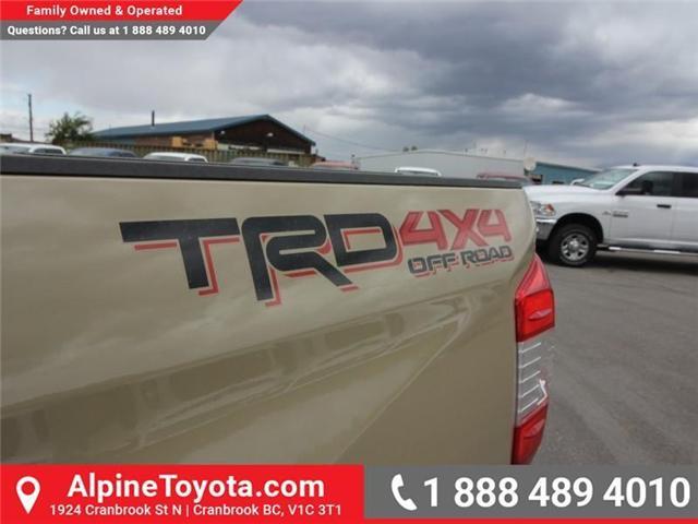 2018 Toyota Tundra SR5 Plus 5.7L V8 (Stk: X768930) in Cranbrook - Image 17 of 18