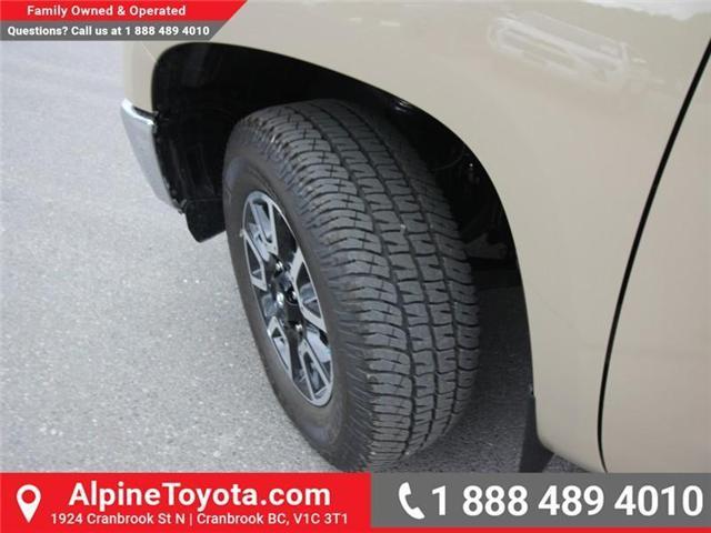 2018 Toyota Tundra SR5 Plus 5.7L V8 (Stk: X768930) in Cranbrook - Image 18 of 18
