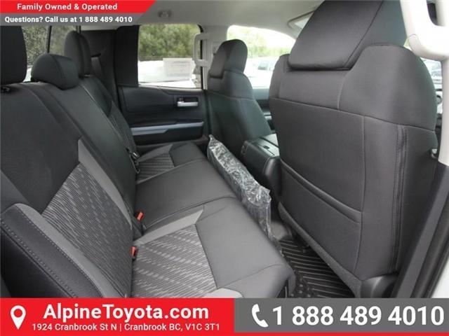 2018 Toyota Tundra SR5 Plus 5.7L V8 (Stk: X769277) in Cranbrook - Image 12 of 17