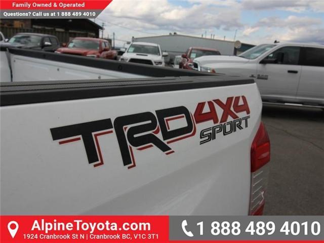 2018 Toyota Tundra SR5 Plus 5.7L V8 (Stk: X769277) in Cranbrook - Image 16 of 17